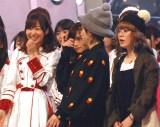 『第67回紅白歌合戦』リハーサル3日目に登場した(左から)指原莉乃、吉村由美、大貫亜美 (C)ORICON NewS inc.