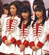 『第67回紅白歌合戦』リハーサル3日目に登場した(左から)渡辺麻友、田中美久、矢吹奈子 (C)ORICON NewS inc.