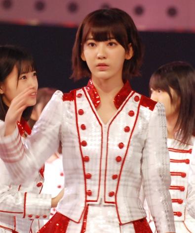 『第67回紅白歌合戦』リハーサル3日目に登場したHKT48・宮脇咲良 (C)ORICON NewS inc.