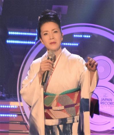 『第58回日本レコード大賞』でパフォーマンスした坂本冬美 (C)ORICON NewS inc.