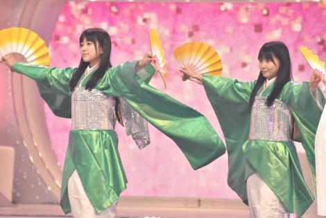 HKT48(左から)矢吹奈子、田中美久=『第67回紅白歌合戦』リハーサルより (C)ORICON NewS inc.