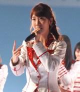 『第67回紅白歌合戦』リハーサル3日目に登場したAKB48・柏木由紀 (C)ORICON NewS inc.