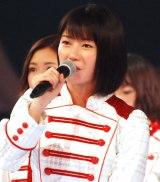 『第67回紅白歌合戦』リハーサル3日目に登場したAKB48・横山由依 (C)ORICON NewS inc.