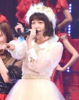 AKB48紅白選抜センターに3位となった島崎遥香 (C)ORICON NewS inc.