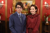 特別ゲストとして出演するベッキー(右)とロンドンブーツ1号2号の田村淳(左) (C)中京テレビ