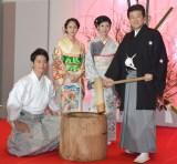(左から)工藤阿須加、前田敦子、黒木瞳、三浦友和 (C)ORICON NewS inc.