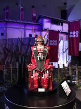 堺雅人が大阪の陣の撮影で着用した甲冑のレプリカが展示されている (C)ORICON NewS inc.