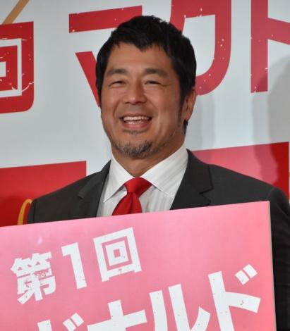 『第1回マクドナルド総選挙』開催セレモニーに出席した高田延彦 (C)ORICON NewS inc.