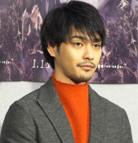 NHKの連続ドラマ『お母さん、娘をやめていいですか?』試写会に出席した柳楽優弥 (C)ORICON NewS inc.
