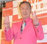 大回顧展「DAVID BOWIE is」内覧会に来場した山本寛斎 (C)ORICON NewS inc.