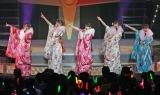 新春コンサートで解散日を発表した℃-ute