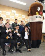 『糸引き納豆の日記念 ねばりが勝負!アスリートトーーク!』イベントの模様 (C)ORICON NewS inc.