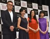 (左から)権野元監督、黒木瞳、仲間由紀恵、夏帆 (C)ORICON NewS inc.