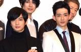 映画『Bros.マックスマン』初日舞台あいさつに登壇した(左から)千葉雄大と竜星涼 (C)ORICON NewS inc.