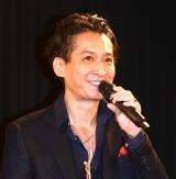 映画『THE ACTOR』の舞台あいさつに出席した大沢樹生 (C)ORICON NewS inc.
