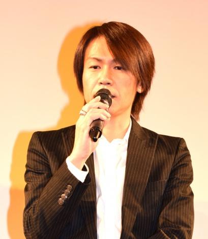 映画『THE ACTOR』の舞台あいさつに出席した城咲仁 (C)ORICON NewS inc.