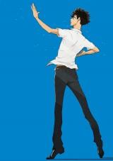 2017年夏、放送予定のアニメ『ボールルームへようこそ』第1弾キービジュアル(C)竹内友・講談社/小笠原ダンススタジオ