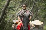 NHK大河ドラマ『おんな城主 直虎』第1回(1月8日放送)より。井伊直満(宇梶剛士)は駿府に呼びだされる