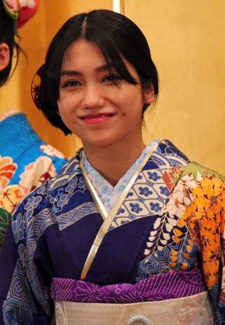 「AKB48グループ成人式記念撮影会」に参加したAKB48の田野優花 (C)ORICON NewS inc.
