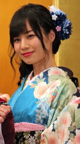 「AKB48グループ成人式記念撮影会」に参加したSKE48の青木詩織 (C)ORICON NewS inc.