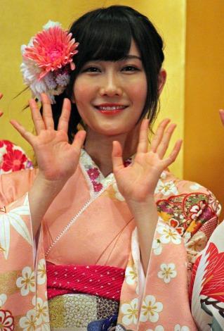 「AKB48グループ成人式記念撮影会」に参加したNMB48の矢倉楓子 (C)ORICON NewS inc.