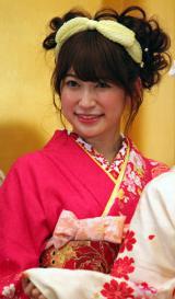 「AKB48グループ成人式記念撮影会」に参加したNMB48の吉田朱里 (C)ORICON NewS inc.