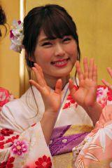 「AKB48グループ成人式記念撮影会」に参加したNMB48の渋谷凪咲 (C)ORICON NewS inc.
