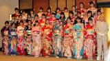 新成人32人が参加した「AKB48グループ成人式記念撮影会」(9日=東京・神田明神) (C)ORICON NewS inc.