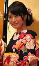 「AKB48グループ成人式記念撮影会」に参加したAKB48の藤田奈那 (C)ORICON NewS inc.