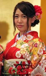 「AKB48グループ成人式記念撮影会」に参加したAKB48の茂木忍 (C)ORICON NewS inc.