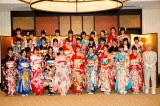 「AKB48グループ成人式記念撮影会」の模様(C)AKS