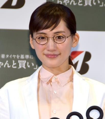 ブリジストン『2017年夏タイヤ新ラインアップ発表会』に出席した綾瀬はるか (C)ORICON NewS inc.