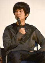 映画『14の夜』大ヒット御礼舞台あいさつに出席したキュウソネコカミ・ヤマサキ セイヤ (C)ORICON NewS inc.