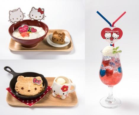 """サムネイル """"LOVE""""がテーマの「ハローキティカフェ」が大阪・心斎橋に初登場!"""