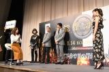 映画『本能寺ホテル』公開直前イベントのジェスチャーゲームの模様 (C)ORICON NewS inc.
