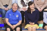 18日放送の日本テレビ系バラエティ番組『1周回って知らない話』に出演する三瓶&水卜麻美アナウンサー(C)日本テレビ