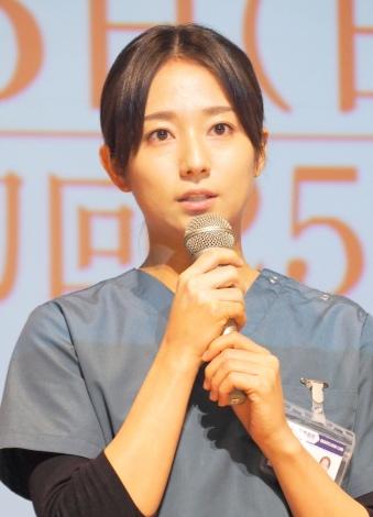 木村文乃がTBS系日曜劇場『A LIFE〜愛しき人〜』試写会に登場 (C)ORICON NewS inc.