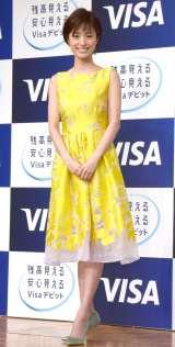 『Visaデビットカード』新CM発表会に出席した上戸彩 (C)ORICON NewS inc.