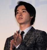 映画『一週間フレンズ。』完成披露試写会に出席した山崎賢人 (C)ORICON NewS inc.