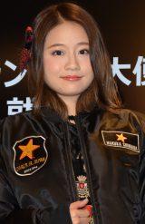 AKB48の島田晴香=プレミアムバーガーレストランチェーン『Carl's Jr.』ブランドPR大使就任式 (C)ORICON NewS inc.