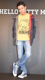 『HELLO KITTY MEN×西武渋谷店』のプレス向け発表会に出席したピース綾部祐二 (C)ORICON NewS inc.