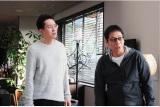 1月13日スタート、テレビ東京系ドラマ24『バイプレイヤーズ〜もしも6人の名脇役がシェアハウスで暮らしたら〜』第1話より。(左から)松重豊、大杉漣(C)「バイプレイヤーズ」製作委員会