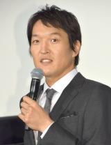 劇場版『新・ミナミの帝王 THE KING OF MINAMI』初日舞台あいさつに出席した千原ジュニア (C)ORICON NewS inc.
