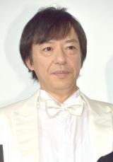劇場版『新・ミナミの帝王 THE KING OF MINAMI』初日舞台あいさつに出席した板尾創路 (C)ORICON NewS inc.