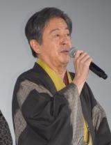 映画『本能寺ホテル』初日舞台あいさつに出席した風間杜夫 (C)ORICON NewS inc.