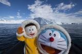 南極半島近くの海上にて(C)藤子プロ・小学館・テレビ朝日・シンエイ・ADK 2017