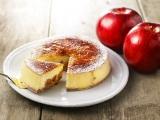パブロの「プレミアムチーズタルト」シリーズの姉妹品『贅沢ブリュレチーズタルト‐ごろごろりんご‐』が登場