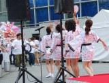 """『テレビ朝日・六本木ヒルズ 夏祭り SUMMER STATION』""""巨大バナー""""除幕式の模様"""