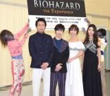 ゾンビも登場!(左から)東幹久、横浜流星、篠田麻里子、Raychell (C)ORICON NewS inc.
