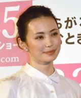 映画『彼らが本気で編むときは、』編みポスターお披露目イベントに出席したミムラ (C)ORICON NewS inc.